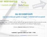 21 gennaio 2020 - GLI ECODEPOSITI - Una nuova idea per gestire al meglio i materiali inerti recuperati