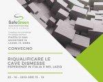 25 ottobre 2019 - Riqualificare le cave dismesse Esperienze in Italia e nel Lazio